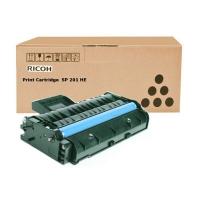 Заправка картриджа Ricoh SP201HE (2600 стр.) с заменой чипа для Ricoh SP213SFNw / SP220Nw Ricoh Aficio SP211SU / SP220SFNw